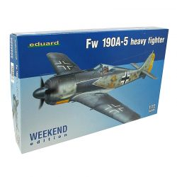 Kit de Montar Focke Wulf FW 190A-5 Heavy Fighter 1:72 Eduard