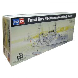 Kit de Montar French Navy Pre-Dreadnought Battleship Voltaire 1:350 Hobby Boss