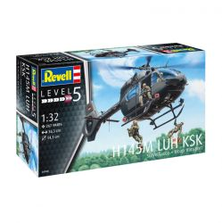 Kit de Montar Helicóptero H145M Luh Ksk Surveillance + Troop Transport 1:32 Revell
