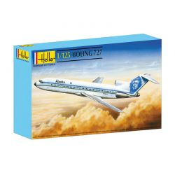 Kit de Montar Boeing 727 Air France 1:125 Heller