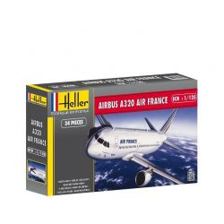 Kit de Montar Airbus A320 Air France 1:126 Heller