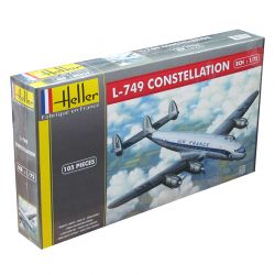 Kit de Montar L-749 Constellation Air France 1:72 Heller