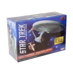 Kit de Montar Star Trek USS Enterprise Space Seed Edition 1:1000 Snap It Polar Lights