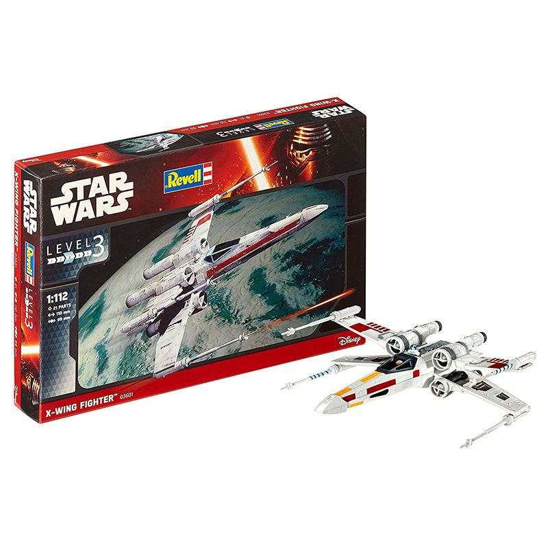 Kit de Montar Star Wars X-Wing Fighter 1:112 Revell