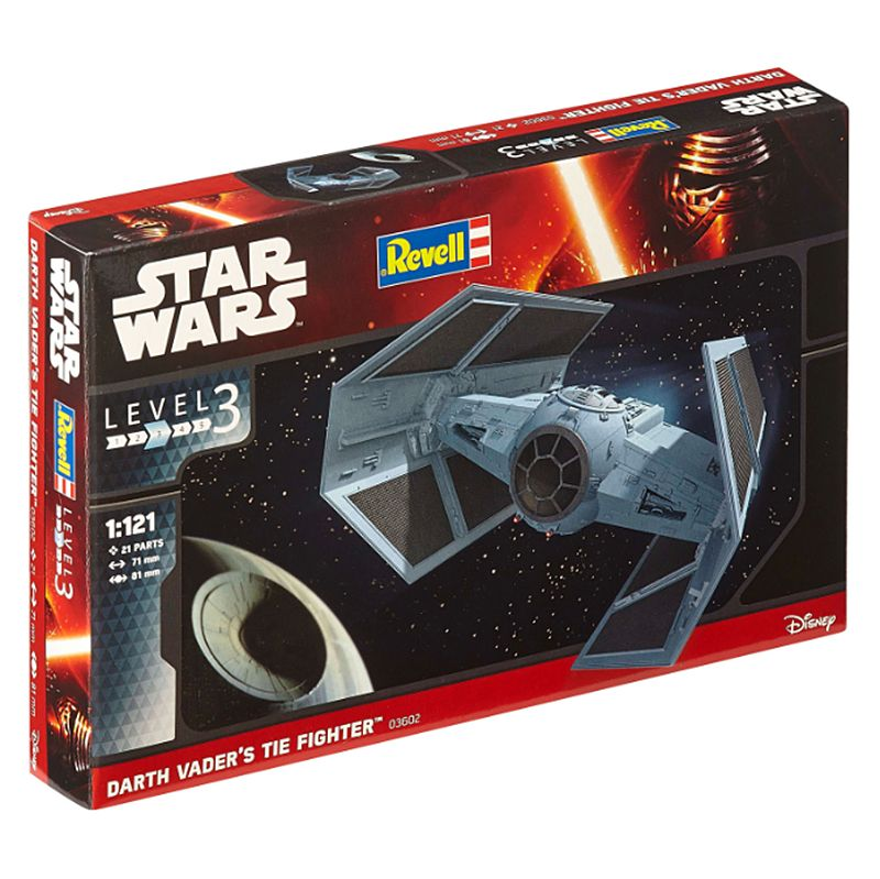 Kit de Montar Star Wars Darth Vader's TIE Fighter 1:121 Revell