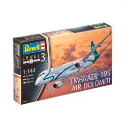 Kit de Montar Embraer 195 Air Dolomiti 1:144 Revell