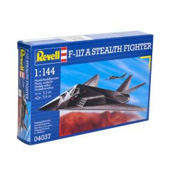 Kit de Montar F 117A Nighthawk Stealth Fighter 1:144 Revell