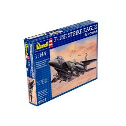 Kit de Montar F 15E Strike Eagle E Bombs 1:144 Revell