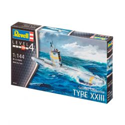 Kit de Montar German Submarine Type XXIII 1:144 Revell