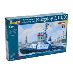 Kit de Montar Harbour Tug Boat Fairplay I, III, X 1:144 Revell