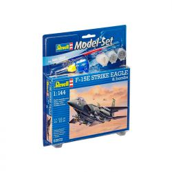 Kit de Montar F 15E Strike Eagle 1:144 Model Set Revell