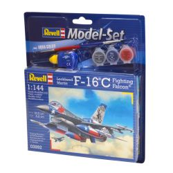 Kit de Montar F16C Fighting Falcon Usaf 1:144 Model Set Revell