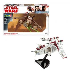 Kit de Montar Star Wars Republic Gunship 1:172 Revell