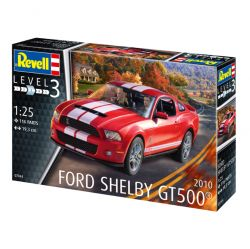 Kit de Montar Ford Shelby GT 500 2010 1:25 Revell