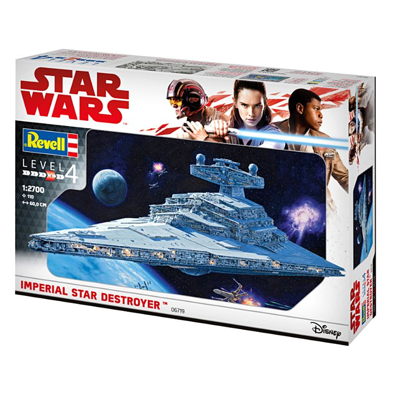 Kit de Montar Star Wars Imperial Star Destroyer 1:2700 Revell