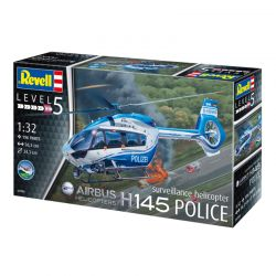 Kit de Montar Helicóptero H145 Police Surveillance Airbus 1:32 Revell