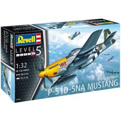 Kit de Montar P-51D-5NA Mustang Early Version 1:32 Revell