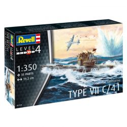 Kit de Montar German Submarine Type VII C 41 1:35 Revell