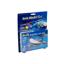 Kit de Montar Boeing 747 200 1:390 Model Set Revell
