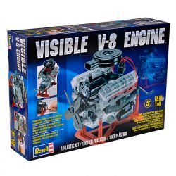 Kit de Montar Motor Visible V8 Engine 1:4 Revell