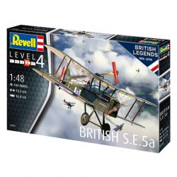 Kit de Montar Avião S.E. 5a British Legends 100 Anos RAF 1:48 Revell