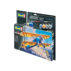 Kit de Montar Stearman PT 17 Kaydet 1:48 Model Set Revell