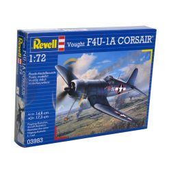 Kit de Montar Vought F4U-1A Corsair 1:72 Revell