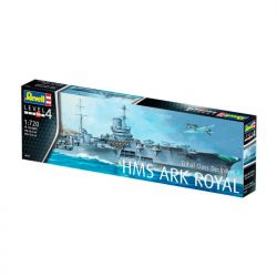 Kit De Montar Revell 1:720 Hms Ark Royal E Tribal Class