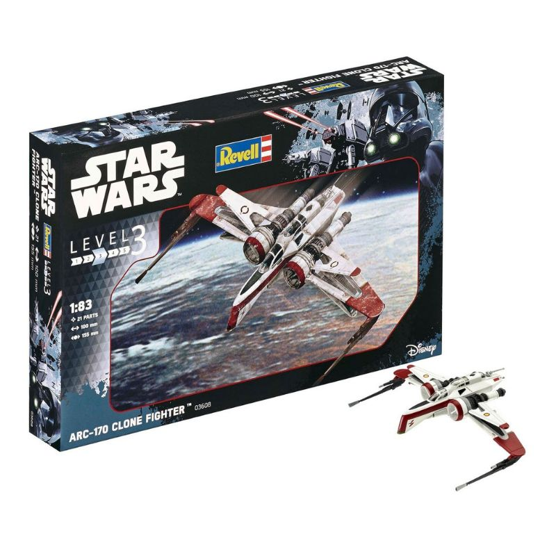 Kit De Montar Revell 1:83 Star Wars ARC 170 Fighter