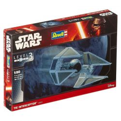 Kit De Montar Revell 1:90 Star Wars TIE Interceptor