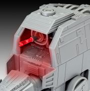 Kit de Montar Star Wars First Order Heavy Assault Walker com Luz e Som 1:16 Build & Play Revell