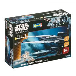 Kit De Montar Revell 1:100 Star Wars Rebel U-Wing Fighter Com Luz E Som