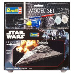 Kit De Montar Revell Model Set 1:12300 Star Wars Imperial Star Destroyer