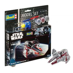 Kit de Montar Star Wars Obi Wan's Jedi Starfighter 1:58 Model Set Revell
