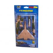 Kit de Montar F-4 Phantom 1:100 Snap Tite Revell