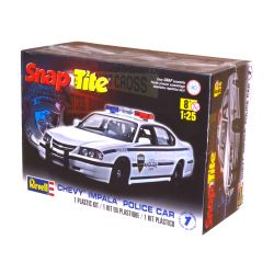 Kit de Montar Chevy Impala Police Car 2005 1:25 Snap Tite Revell