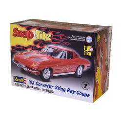Kit De Montar Revell Snap Tite 1:25 Corvette Sting Ray Coupe 1963