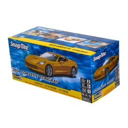 Kit De Montar Revell Snap Tite 1:25 Corvette Stingray 2014