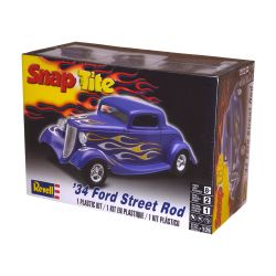 Kit De Montar Revell Snap Tite 1:25 Ford Street Rod 1934