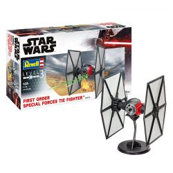 Kit de Montar Star Wars First Order Special Forces Tie Fighter 1:35 Reve