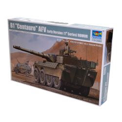 Kit de Montar Blindado Italiano Centauro First Batch Romor 1:35 Trumpeter