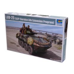 Kit de Montar Blindado Lav 25 Slep Service Life Extension Program 1:35 Trumpeter