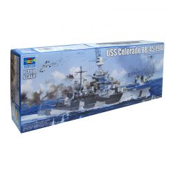 Kit de Montar Uss Colorado BB-45 1944 1:700 Trumpeter