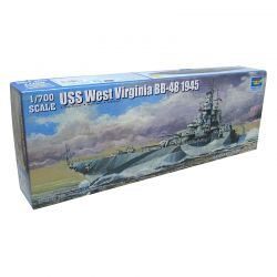 Kit de Montar Uss West Virginia BB-48 1945 1:700 Trumpeter