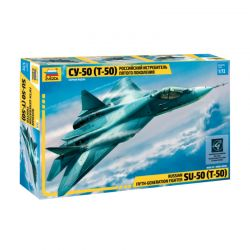 Kit de Montar Russian 15N Stealth Fighter Sukhoi 1:72 Zvezda