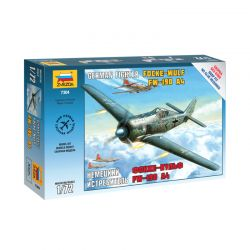 Kit de Montar WW II Focke Wulf German Fighter 1:72 Zvezda