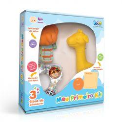 Kit de Mordedores com Chocalho Meu Primeiro Kit - Bda Toyster