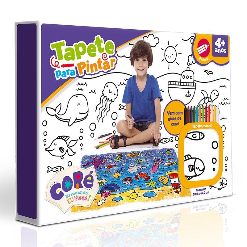 Kit de Pintura Tapete Para Pintar - Toyster