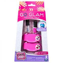 Kit Esmalte Go Glam Nail Pack Love Story Infantil - Sunny