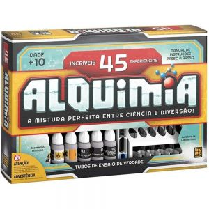Kit Experiências Didático Jogo Alquimia 45 Grow